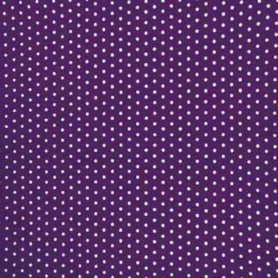 Greyhound Fleece Coat Purple Spot