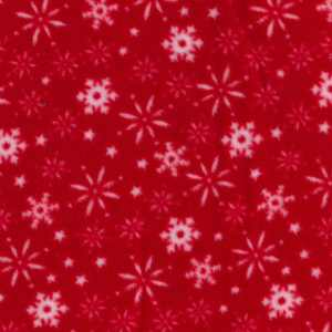 snowflake greyhound coat fleece fabric
